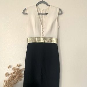 MARTIN GRANT Colorblock Dana Dress